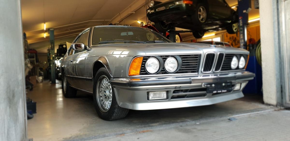coupe BMW 6er E24 Coupé 635CSi