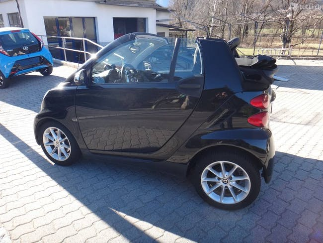 cabriolet Smart Fortwo Cabrio 1000 71 swiss edition mhd
