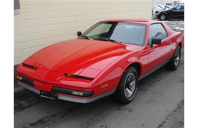 coupe Pontiac Firebird 5.0 V8