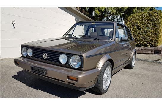 cabriolet VW Golf Cabriolet 1800 (GL)