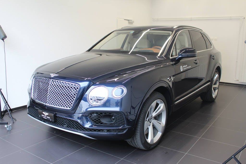 saloon Bentley Bentayga 6.0 W12