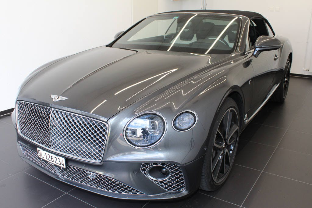 van Bentley Continental 6.0 W12