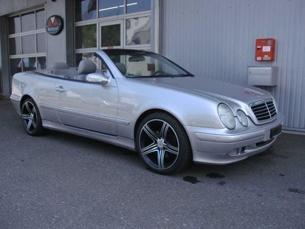 cabriolet Mercedes-Benz CLK -CLASS CLK 200 Kompressor Elègance