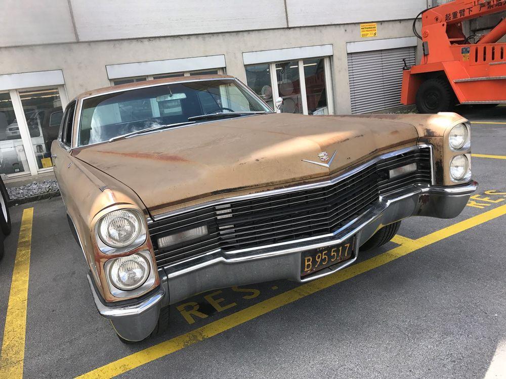 Gebraucht Coupé Cadillac Deville Coupe De Ville 99999 km ...