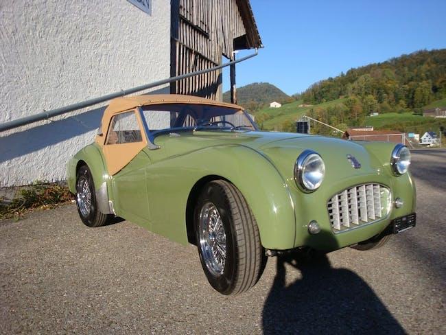 cabriolet Triumph TR3 TR 3 Smallmouth - Overdrive