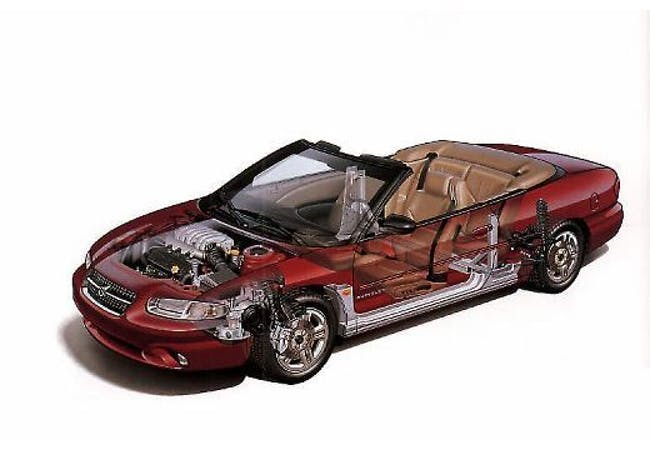 cabriolet Chrysler Stratus Chrysler 2.5 V6 Limited