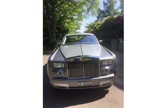 saloon Rolls Royce Phantom Rolls-Royce 6.7 V12