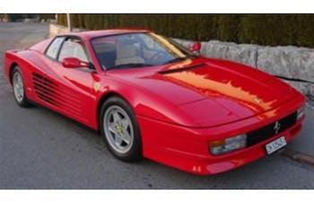 coupe Ferrari Testarossa Ferrari Testarossa