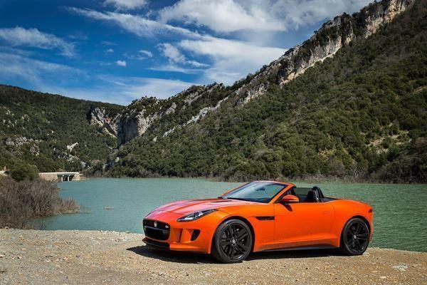 cabriolet Jaguar F-Type Convertible 3.0 V6 S/C 400 Sport Automatik