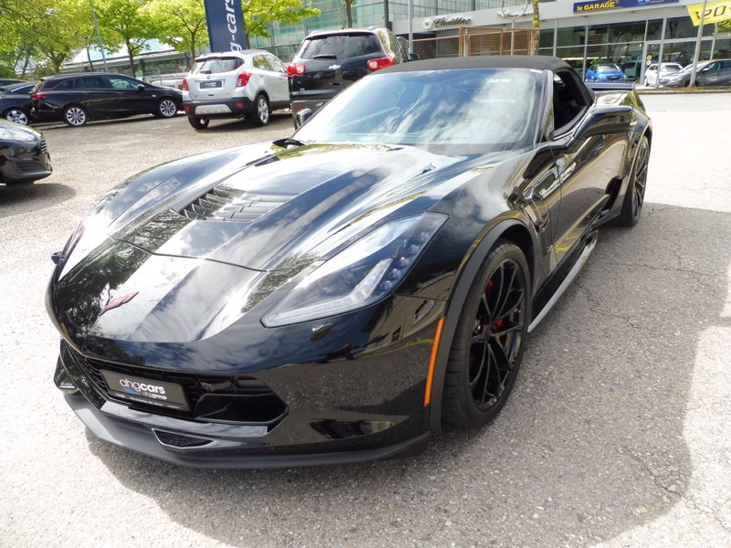 cabriolet Chevrolet Corvette Convertible 6.2 V8 Grand Sport