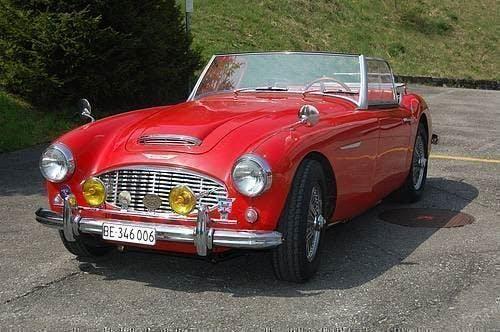 cabriolet Austin Healey MK 3000