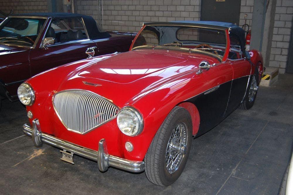 cabriolet Austin Healey Austin Austin 100-4 BN2