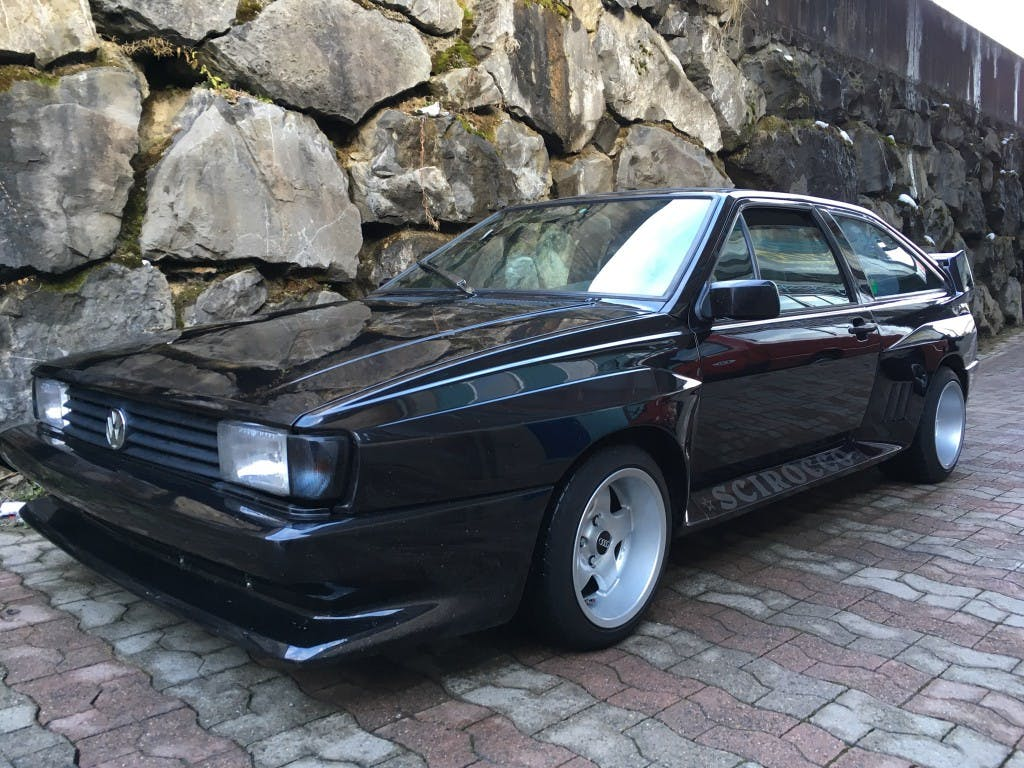 coupe VW Scirocco 1800 GT (GTS)