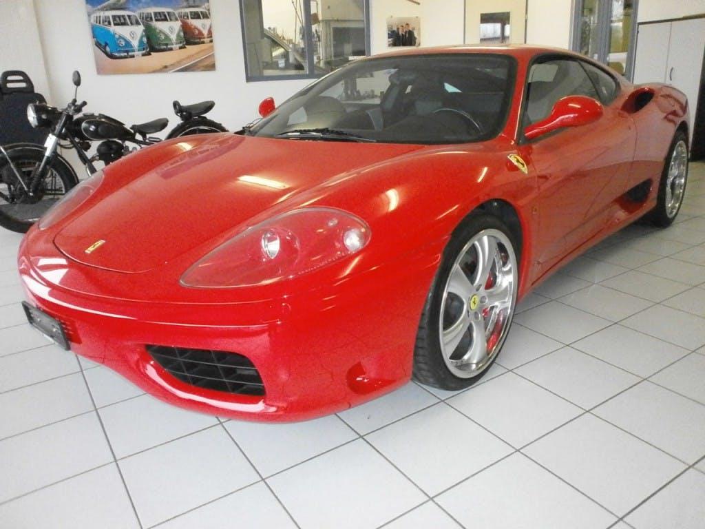 coupe Ferrari 360 F360 Modena Berlinetta