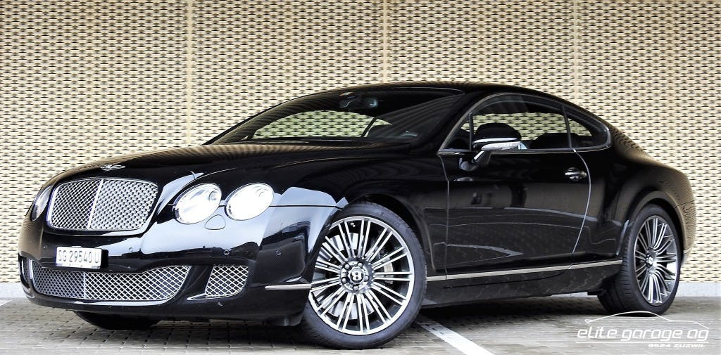 coupe Bentley Continental GT Speed 6.0
