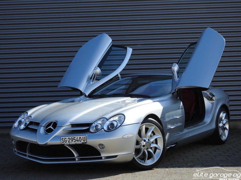 coupe Mercedes-Benz SLR McLaren 730PS