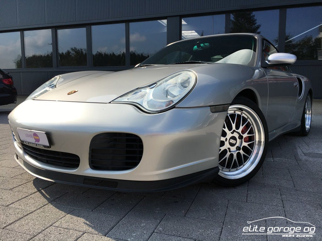 coupe Porsche 911 Turbo
