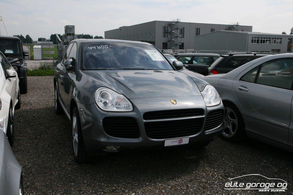 suv Porsche Cayenne Turbo