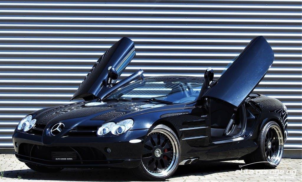 cabriolet Mercedes-Benz SLR McLaren Roadster