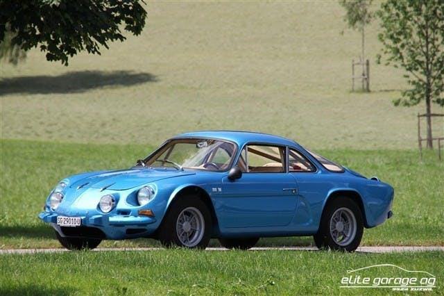 coupe Alpine A110 1600S