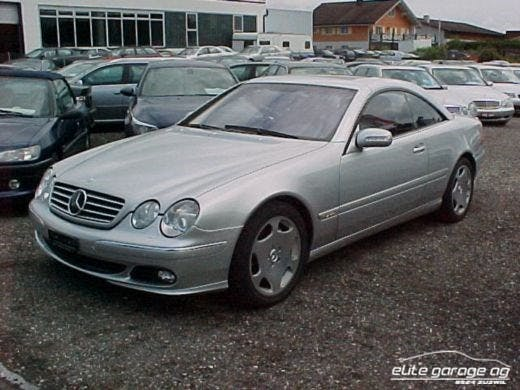 coupe Mercedes-Benz CL 600