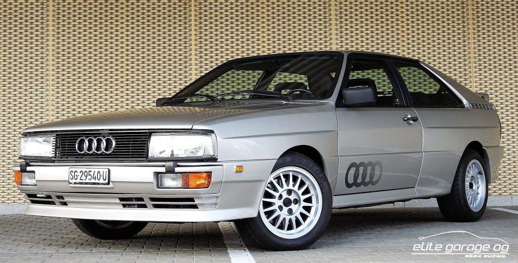 coupe Audi Coupé quattro quattro Turbo