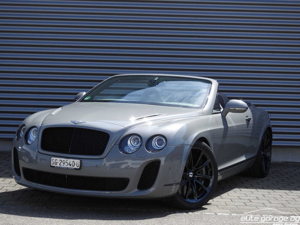 cabriolet Bentley Continental Supersports Convertible 6.0