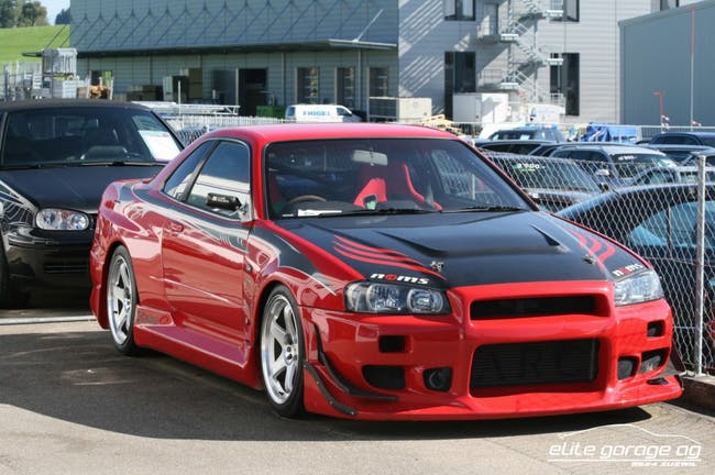 coupe Nissan Skyline Rennwagen