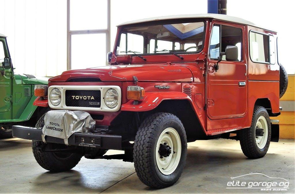 suv Toyota Land Cruiser BJ42 DIESEL