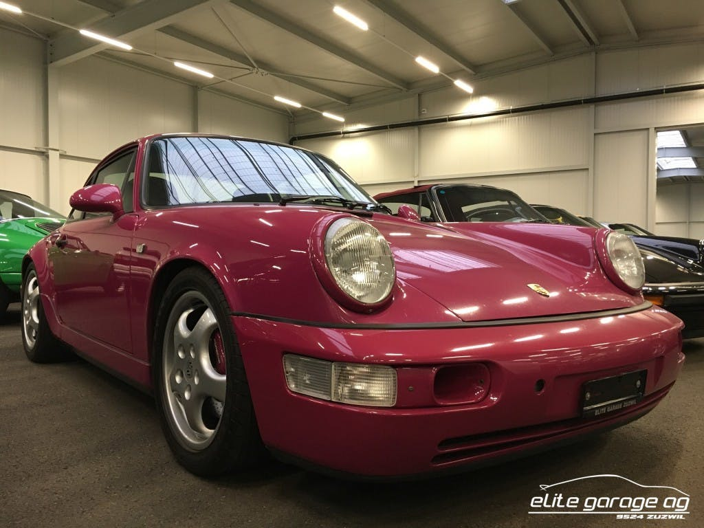 coupe Porsche 911 Carrera 2 RS