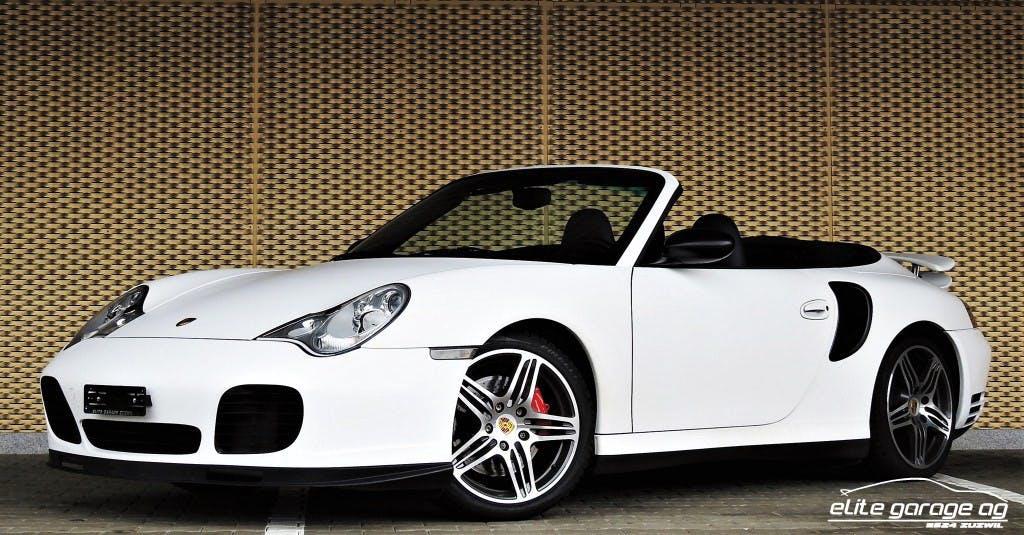 cabriolet Porsche 911 Turbo Cabrio