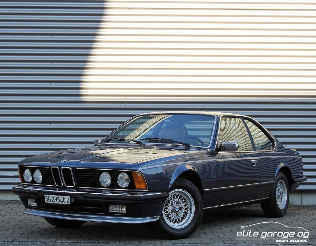 coupe BMW 6er 635 CSI