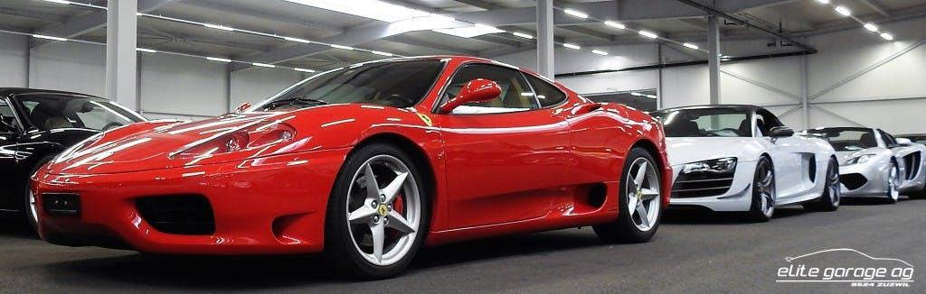 sportscar Ferrari 360 FModena Berlinetta