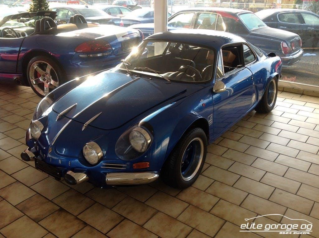 coupe Alpine A110 A110