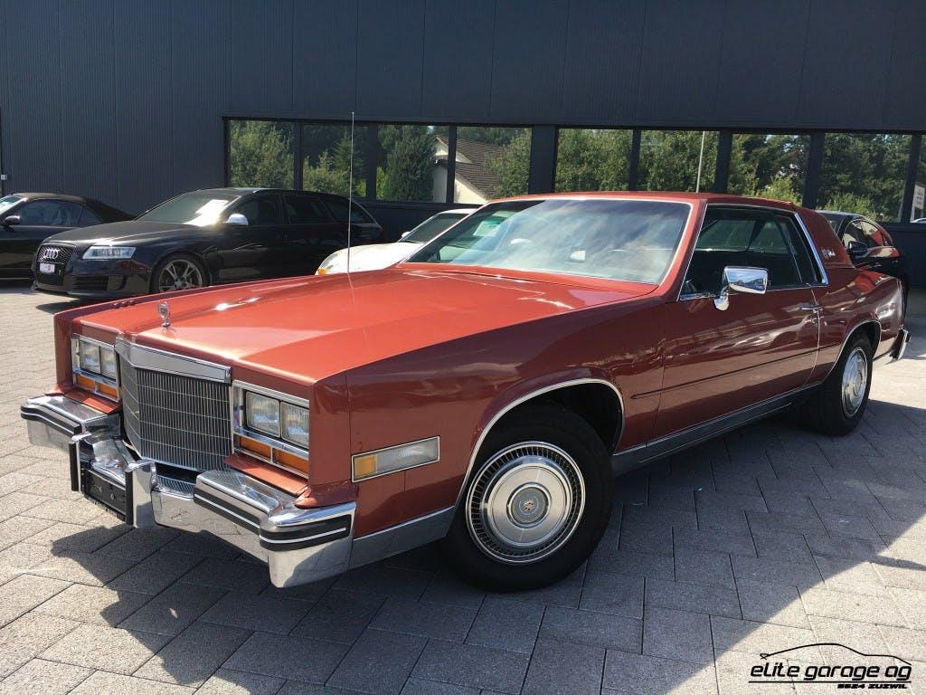 coupe Cadillac Eldorado 4.1 V8