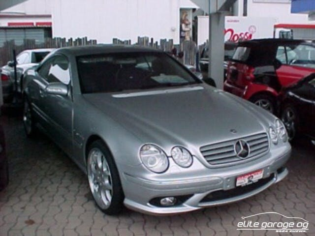 coupe Mercedes-Benz CL 55 AMG