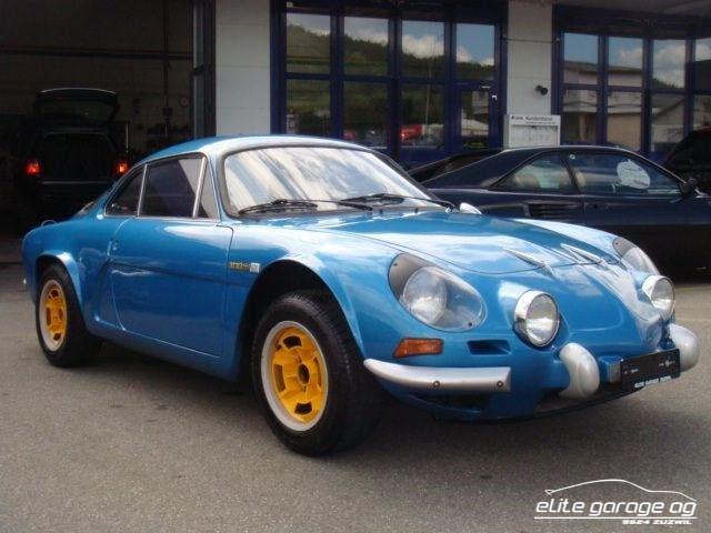 coupe Alpine A110 1600 SC