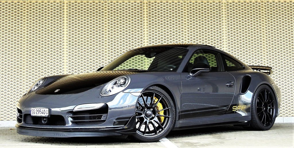 coupe Porsche 911 Turbo PDK 9FF 910PS / 1096NM