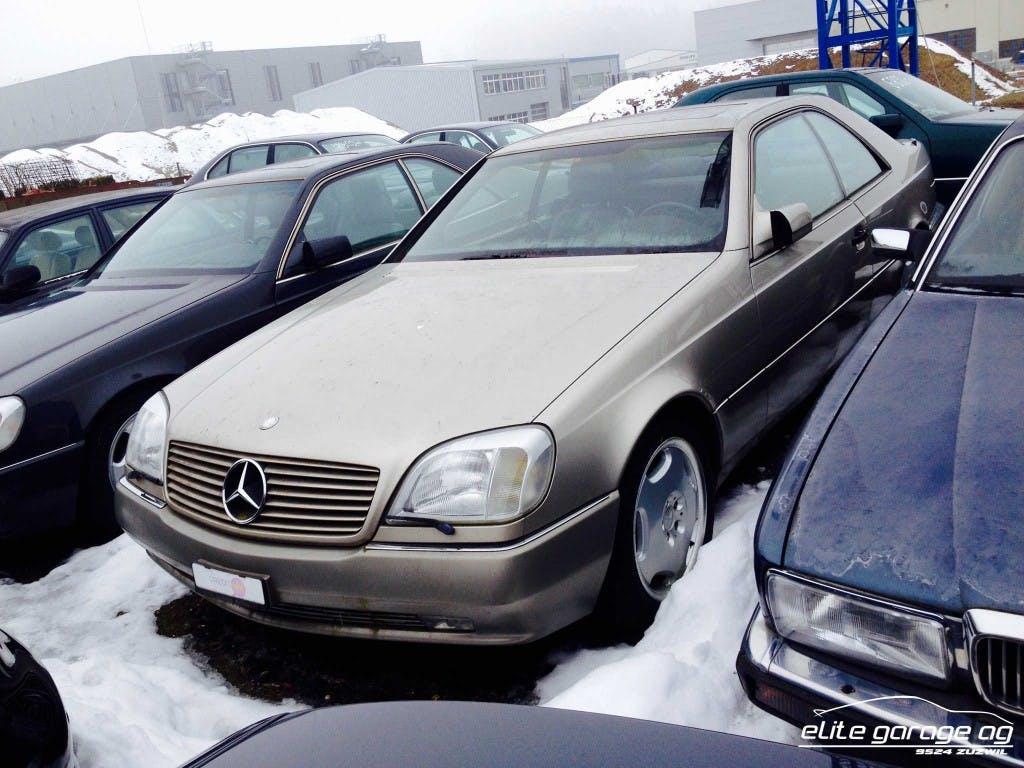 coupe Mercedes-Benz CL S 600 Automatic