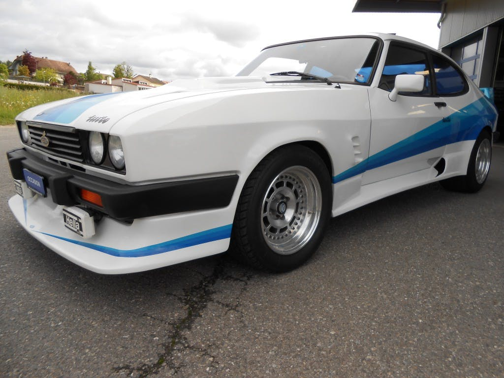 coupe Ford Capri 2.8 Werksturbo 188 cv