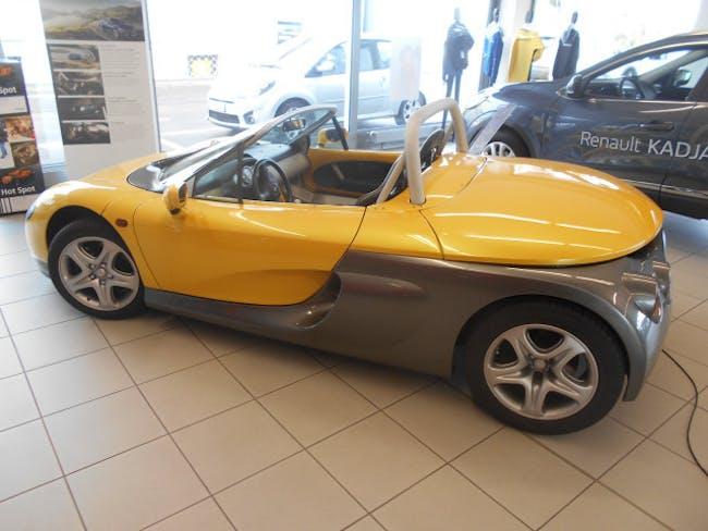 cabriolet Renault Spider 2.0 16V pare-brise