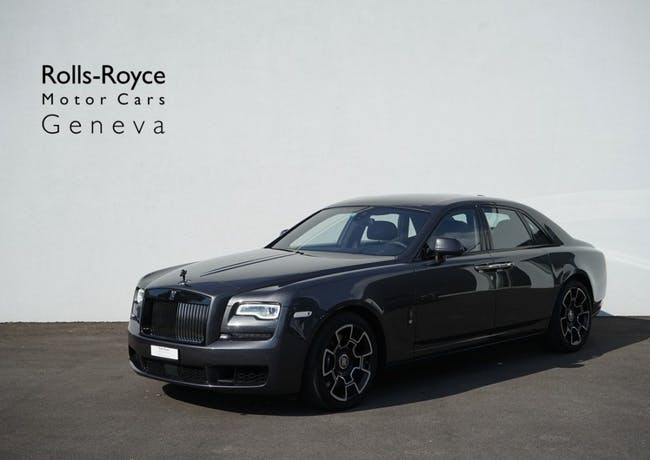 saloon Rolls Royce Ghost 6.6 V12 Black Badge