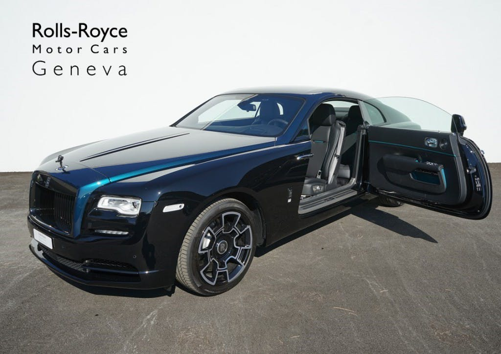 coupe Rolls Royce Wraith Black Badge Adamas One of 40