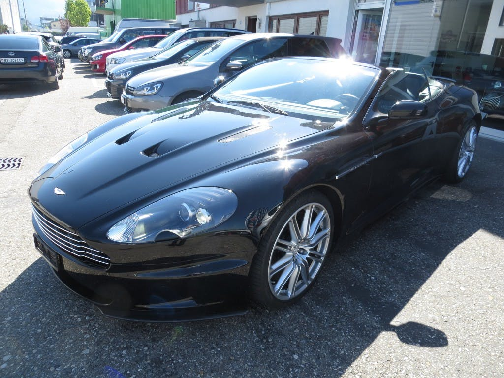 cabriolet Aston Martin DB9/DBS DBS Volante Touchtronic2