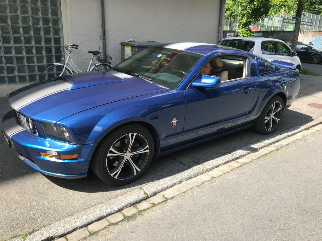 coupe Ford Mustang GT