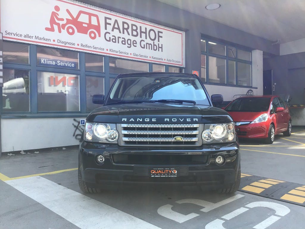 suv Land Rover Range Rover Sport 2.7 Td6 HSE Automatic
