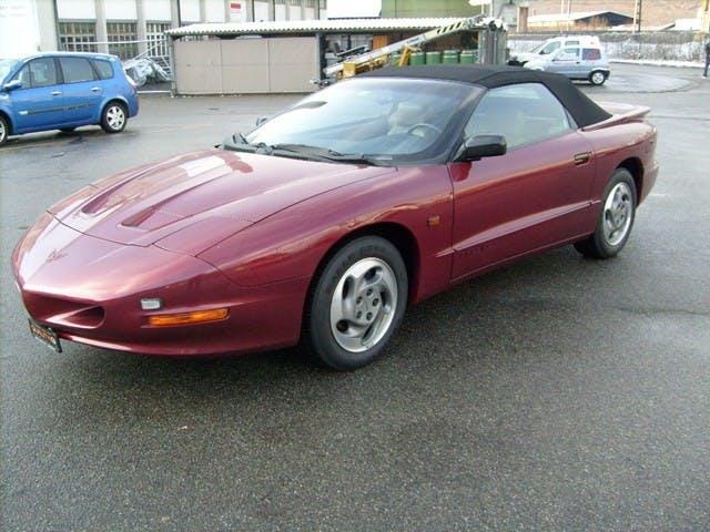 cabriolet Pontiac Firebird 3.8 V6