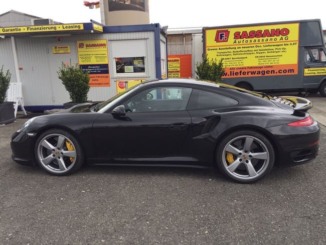 coupe Porsche 911 Turbo S PDK
