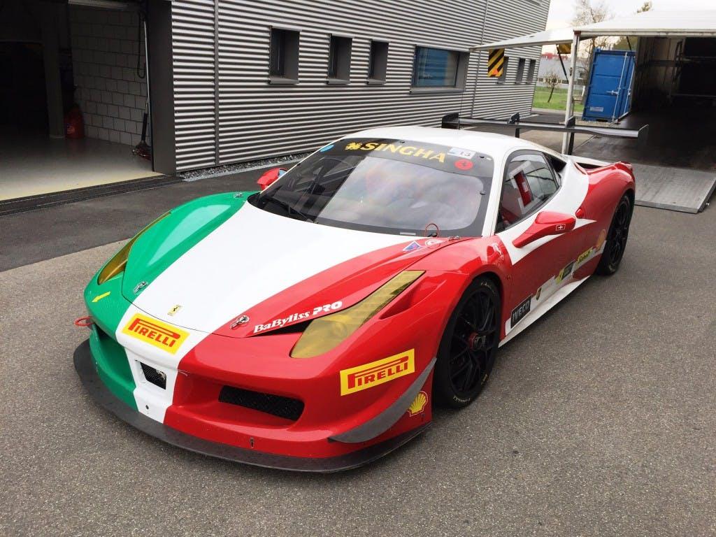 coupe Ferrari 458 Challenge