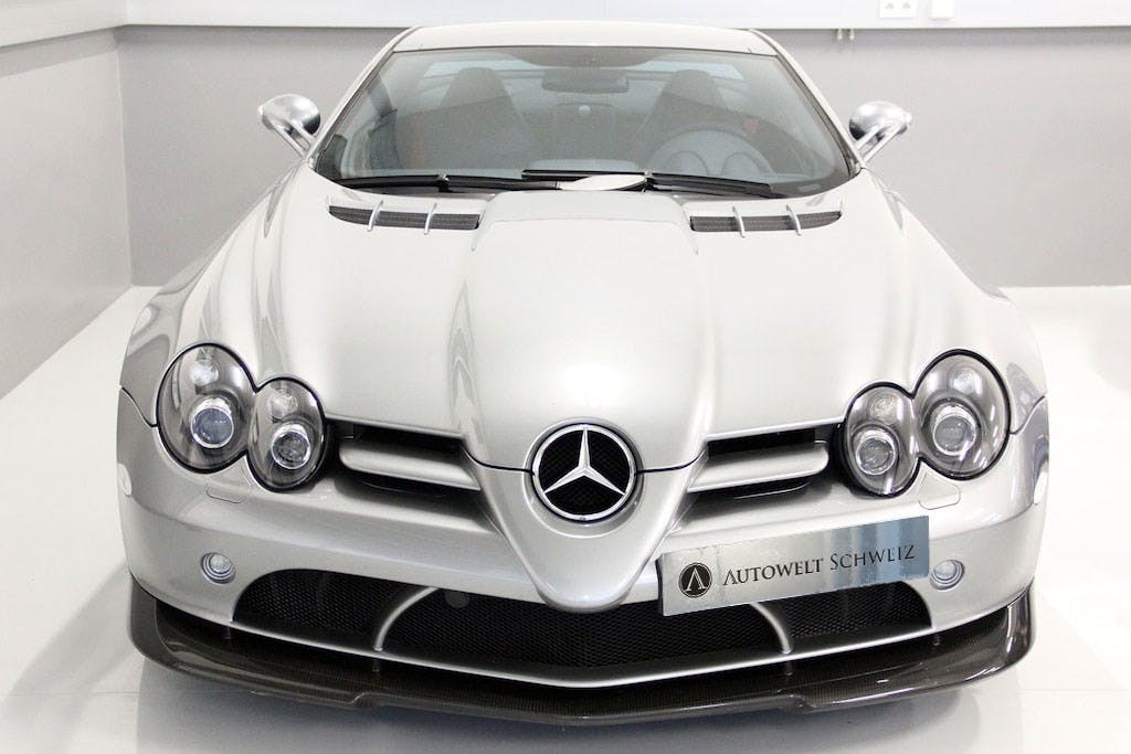 coupe Mercedes-Benz SLR 722